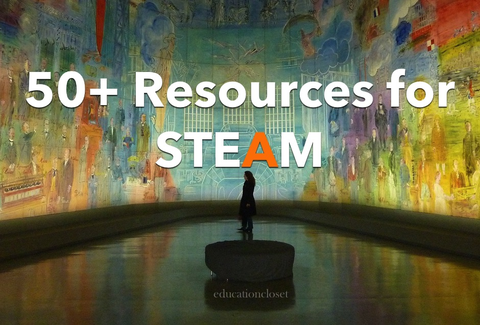 50+ Resources for STEAM | EducationCloset
