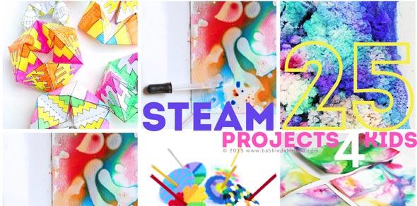 25 STEAM Projects for Kids - Babble Dabble Do