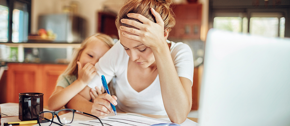 What Parents Can Do When They're Stressed  During COVID-19 - Cincinnati Children's Blog