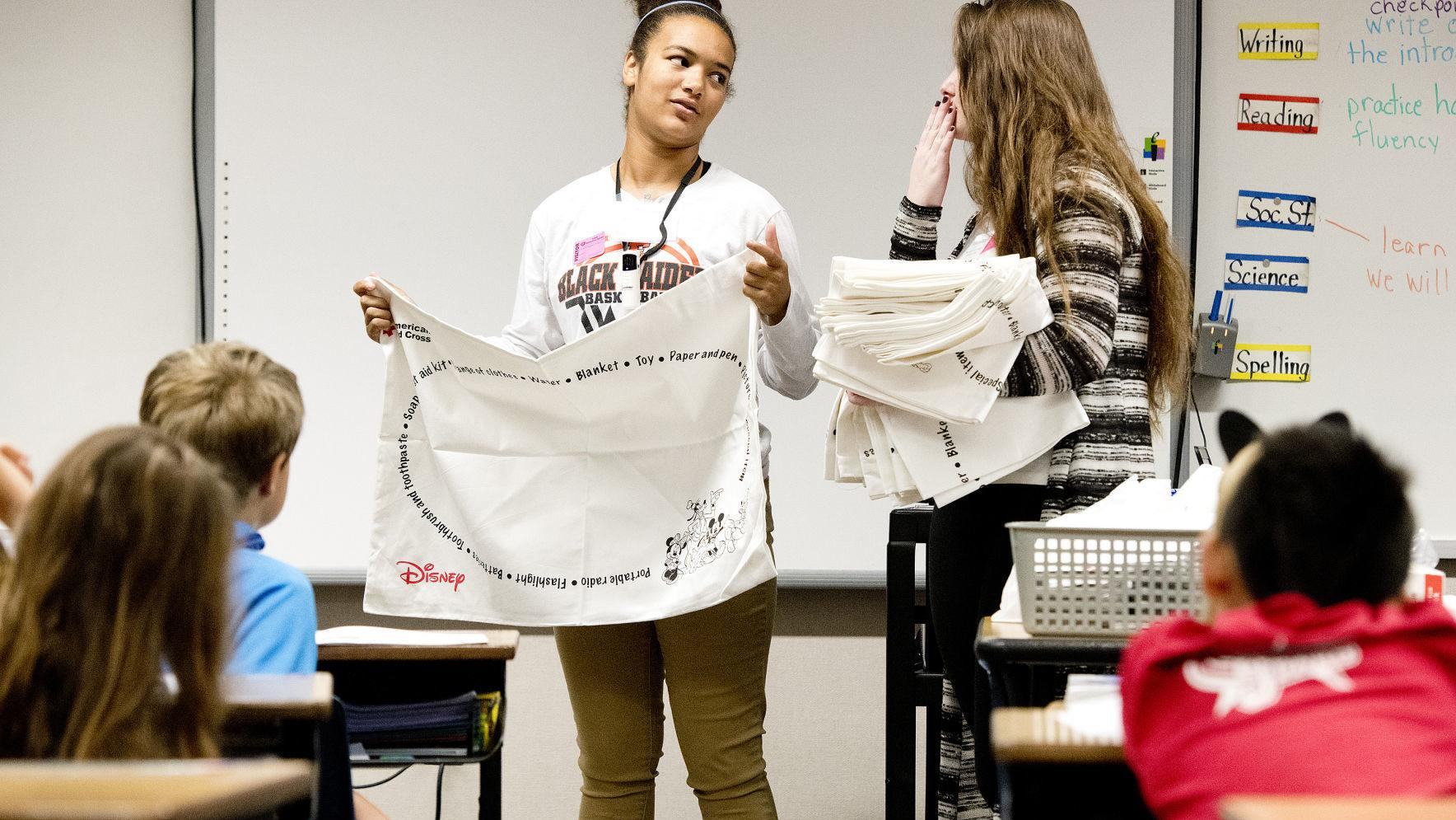 The Pillowcase Project teaches elementary students about disaster preparedness