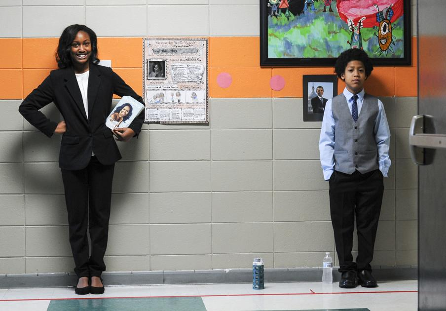 Role-playing teaches students about black history