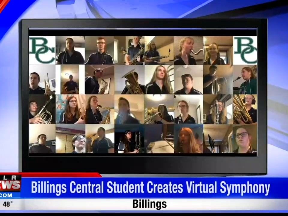 Billings Central Catholic High student creates virtual symphony