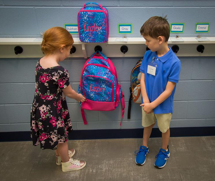 Spring Hill ISD kindergartners get through first-day jitters