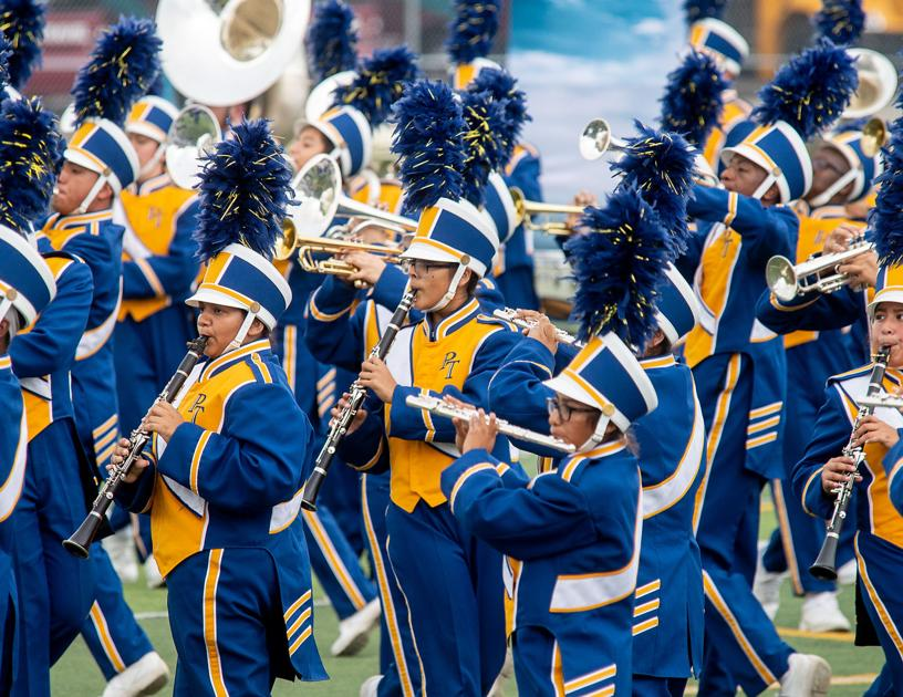 Local schools receive top scores at UIL regional marching band contest