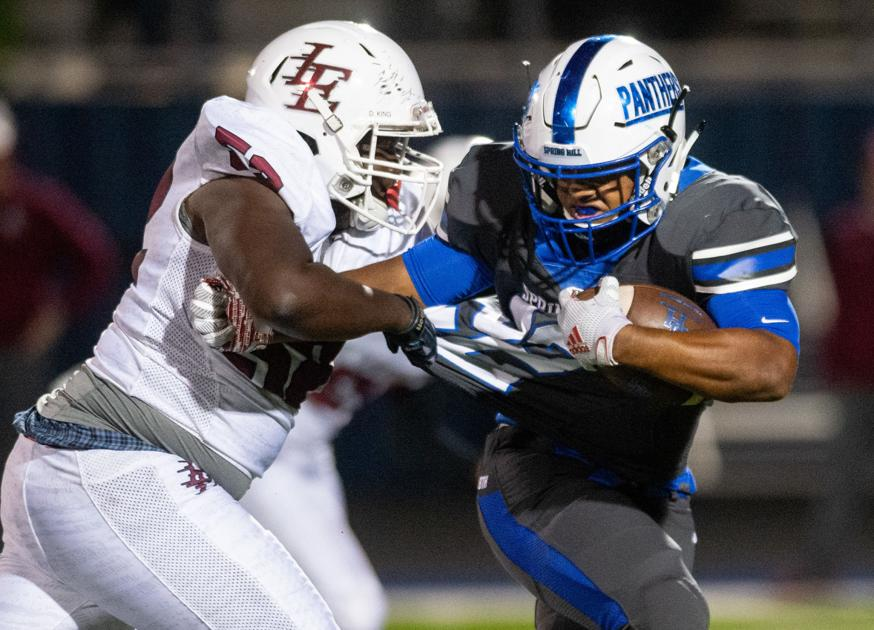 ET Football: Spring Hill hammers Leopards, 56-7