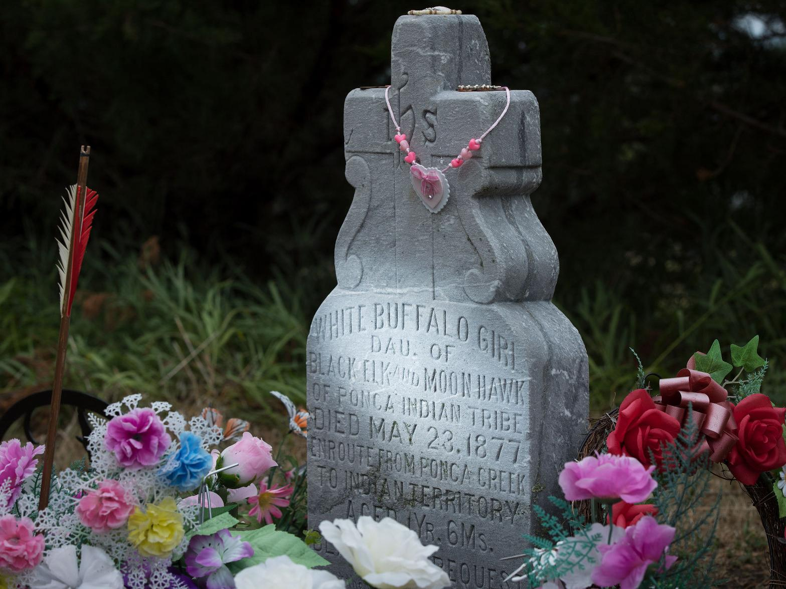 Neligh never forgot: 140 years after White Buffalo Girl's death, town still tends to her grave