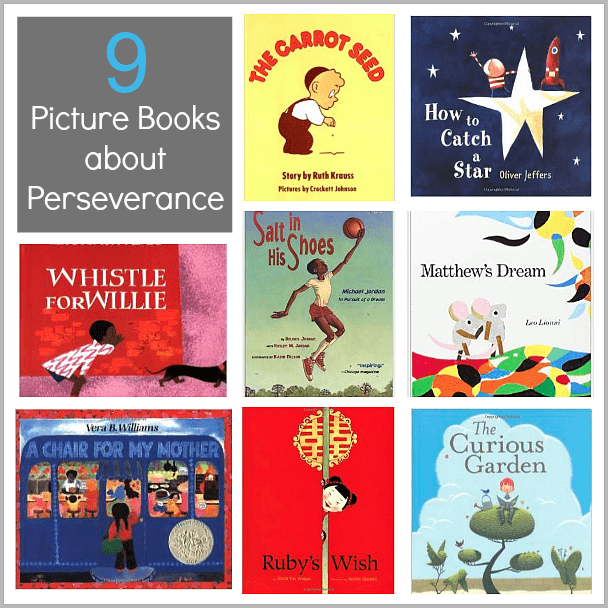 Children's Book List: Picture Books about Perseverance - Buggy and Buddy