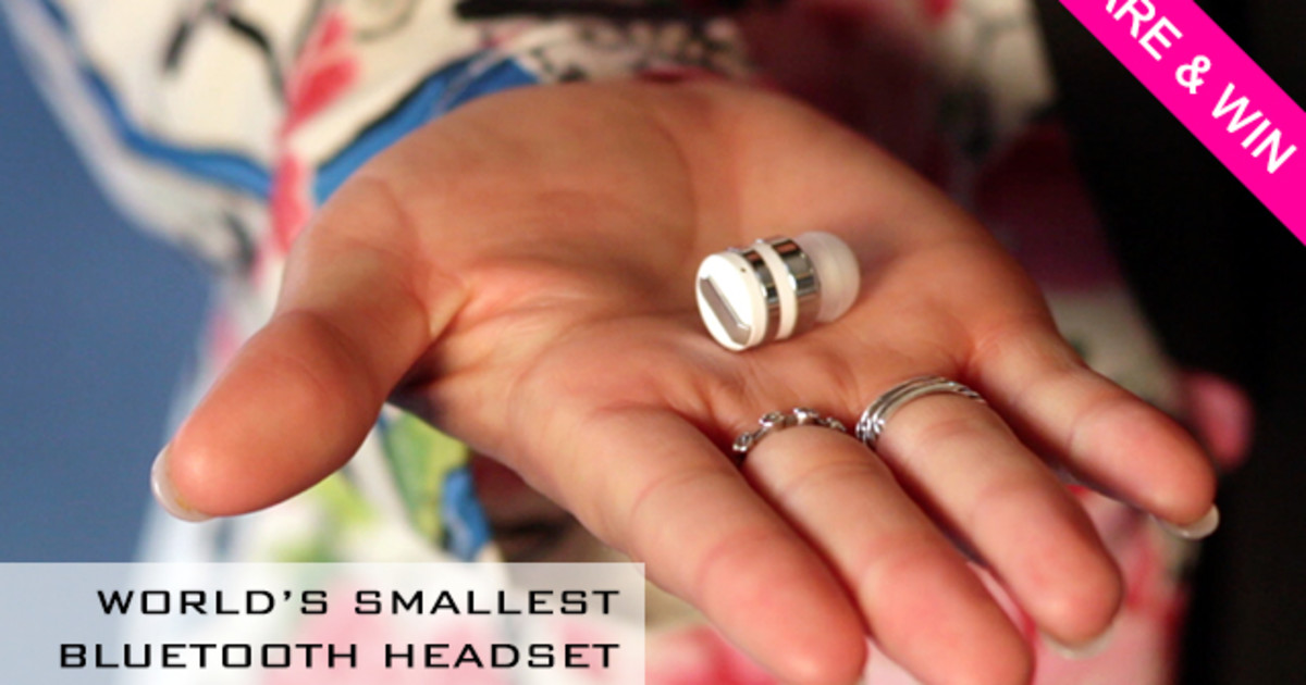 Dot - Worlds Smallest Bluetooth Headset