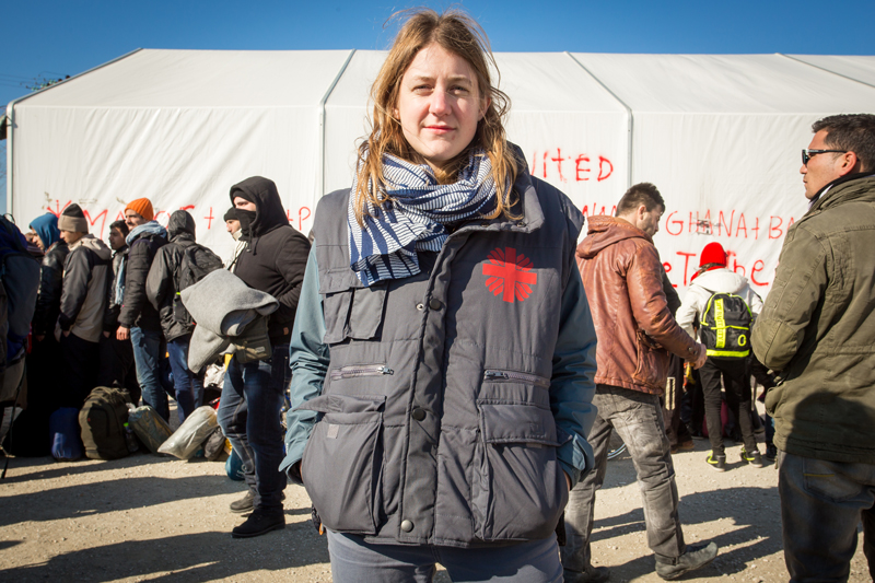 Freezing temperatures await refugees at the start of their Balkan journey