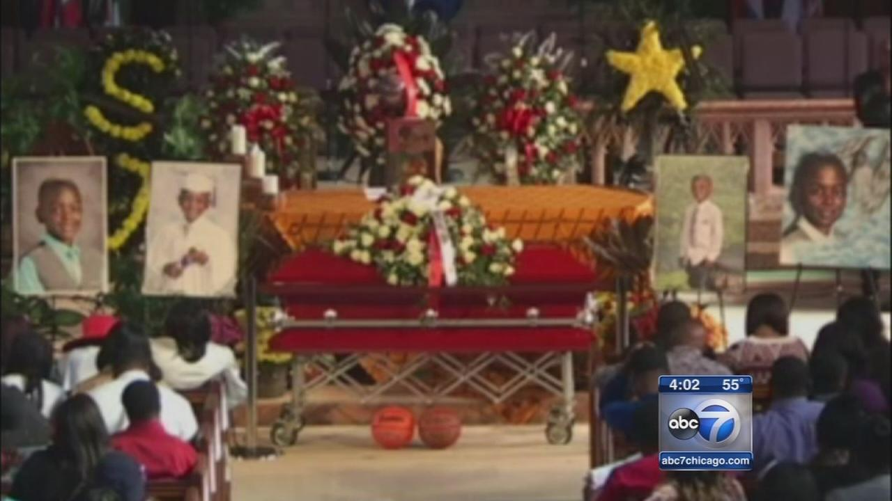 Tyshawn Lee funeral at St. Sabina Church
