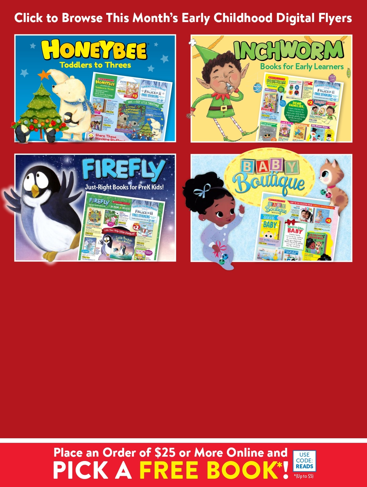 Scholastic Book Clubs: All Digital Flyers for Preschool November