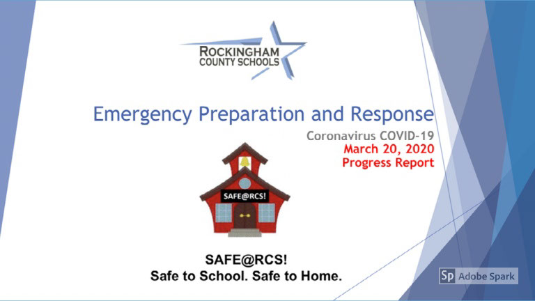 RCS COVID-19 Emergency Preparation and Response Plan In Action!