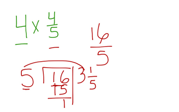 Multiplying Fractions | Educreations