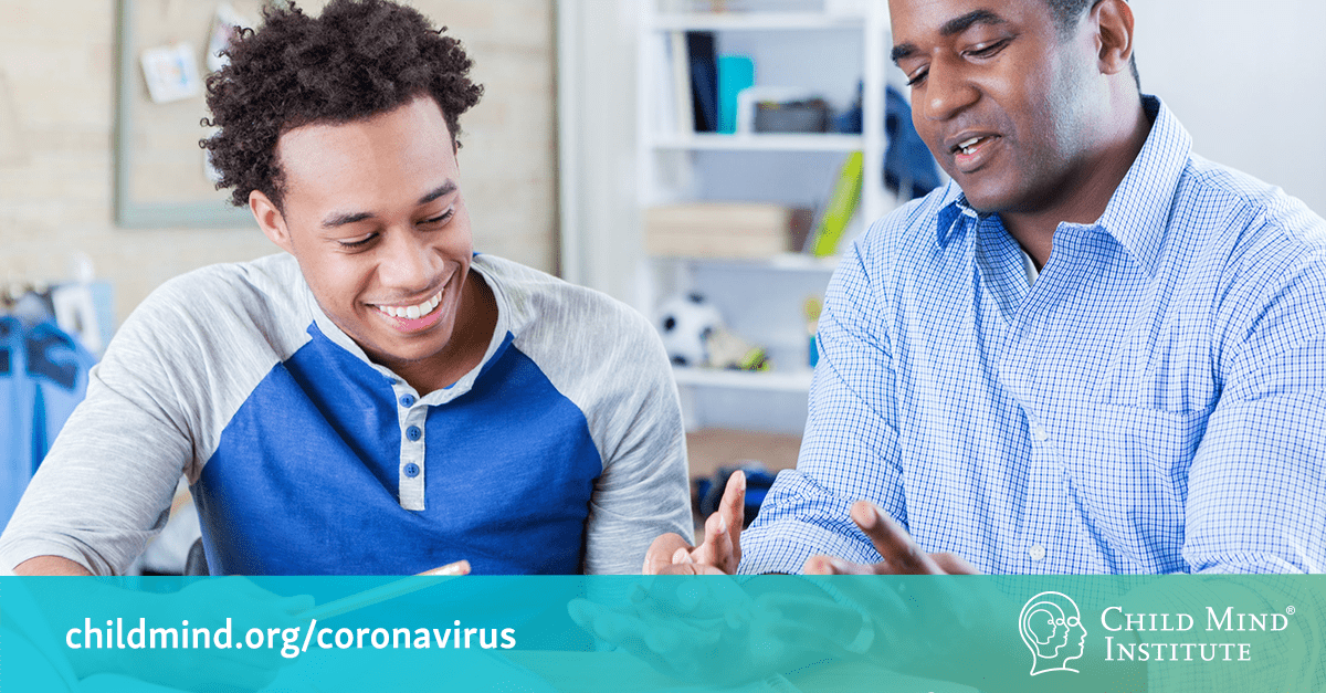 Supporting Teenagers and Young Adults During the Coronavirus Crisis | Child Mind Institute