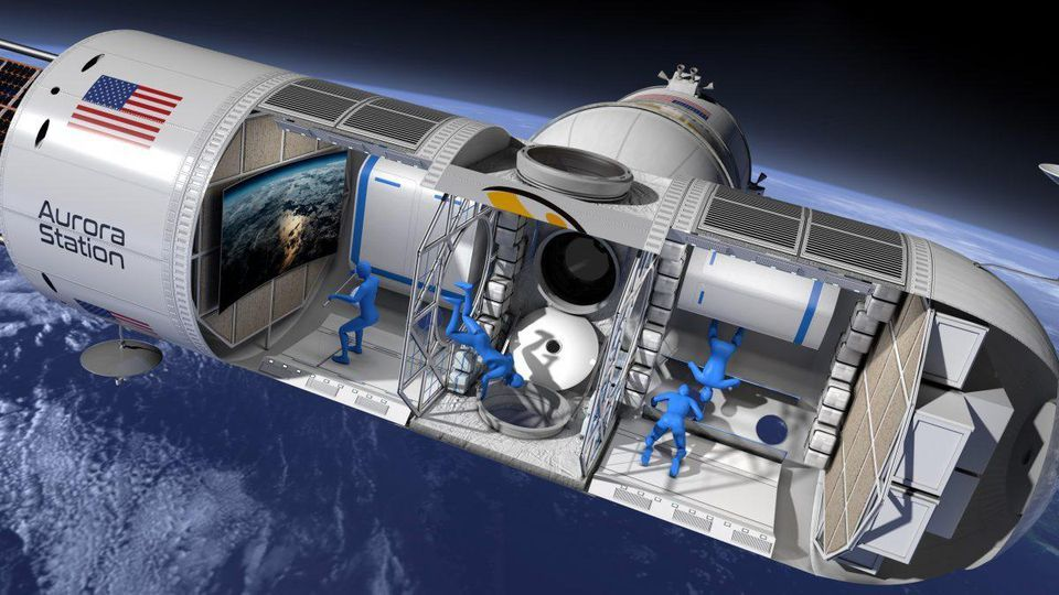 A California start-up is planning to launch a luxury space hotel into orbit by 2021