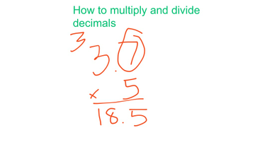 Multiplying And Dividing | Educreations