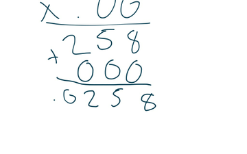 Multiplying With Decimals | Educreations