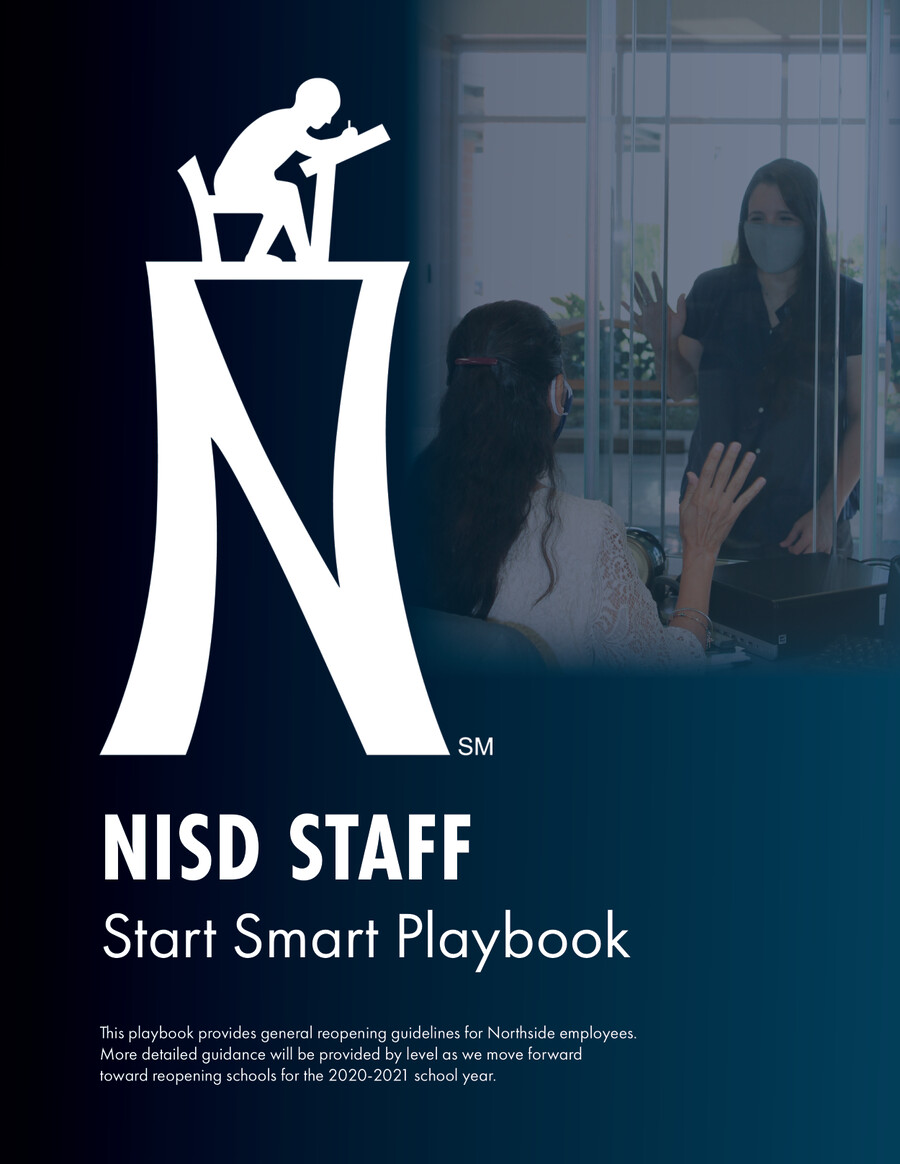 NISD Staff Start Smart Playbook 2020-2021