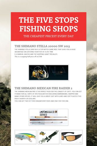 THE FIVE STOPS FISHING SHOPS