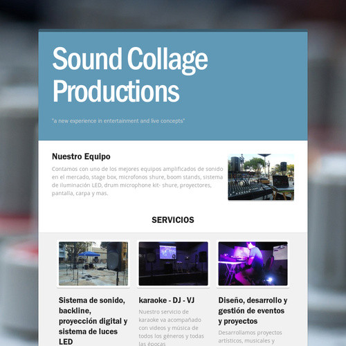 Sound Collage Productions