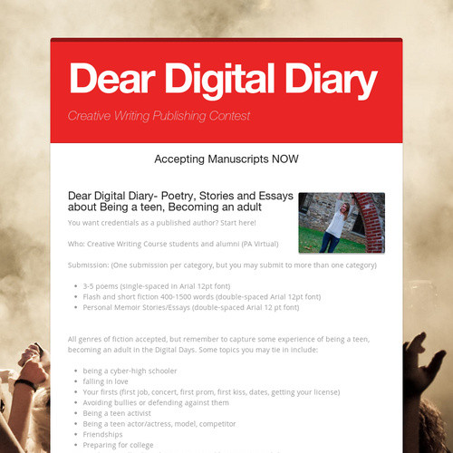 Dear Digital Diary