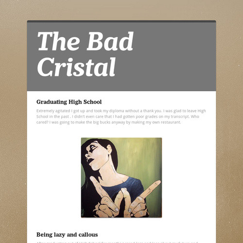 The Bad Cristal