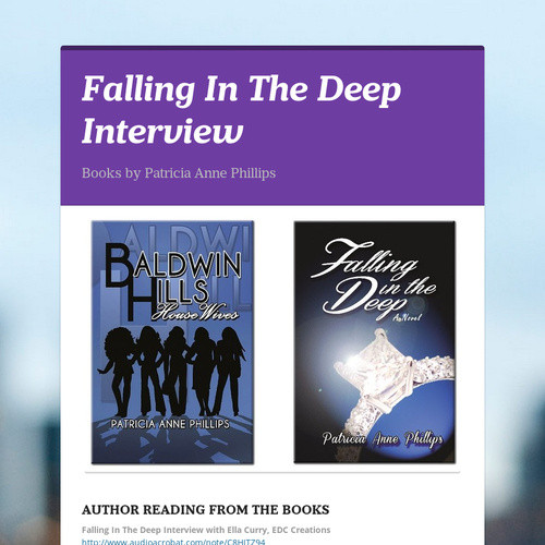 Falling In The Deep Interview