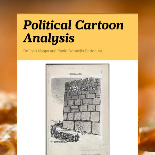 Political Cartoon Analysis