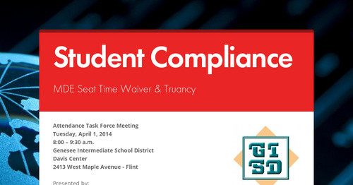 Student Compliance
