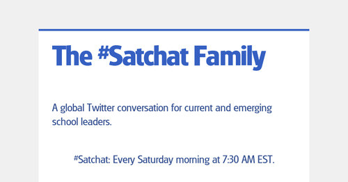 The #Satchat Family