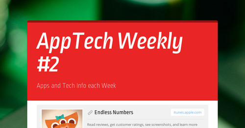 AppTech Weekly #2
