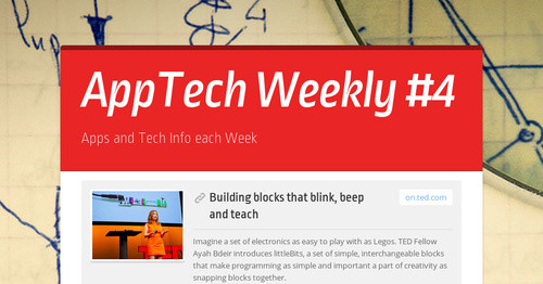 AppTech Weekly #4