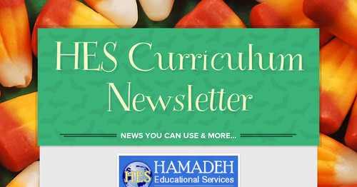 HES Curriculum Newsletter