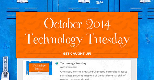 October 2014 Technology Tuesday