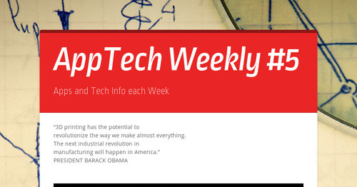 AppTech Weekly #5