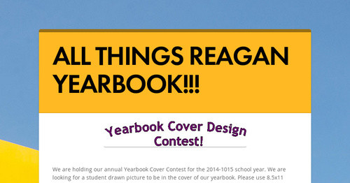 ALL THINGS REAGAN YEARBOOK!!!
