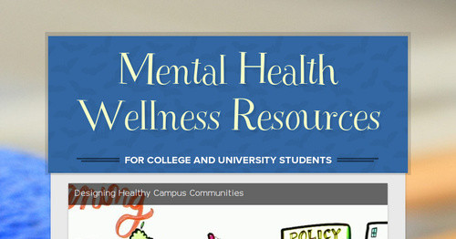 Mental Health Wellness Resources