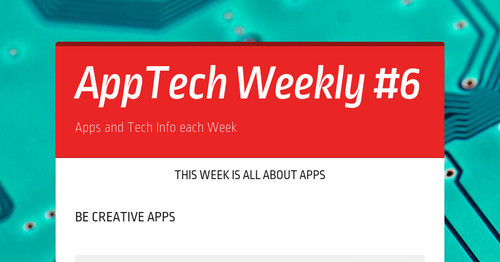 AppTech Weekly #6