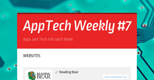 AppTech Weekly #7