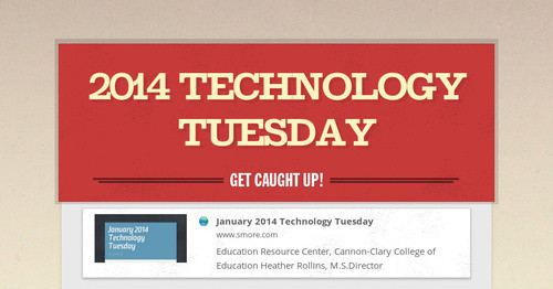 2014 Technology Tuesday
