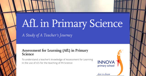 AfL in Primary Science