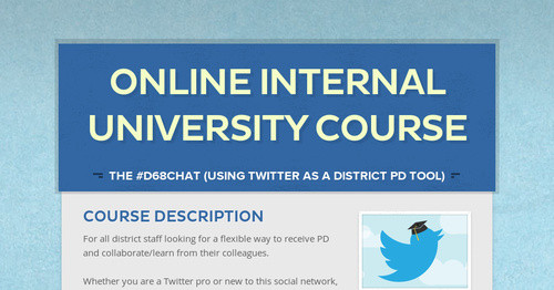 Online Internal University Course