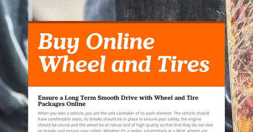 Buy Online Wheel and Tires
