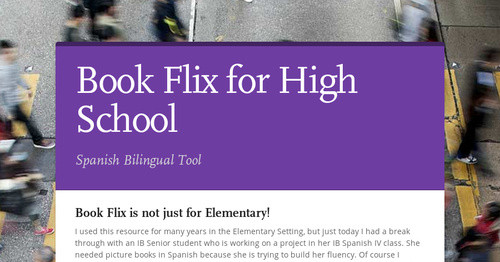 Book Flix for High School