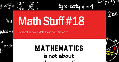 math stuff 23 smore newsletters for education