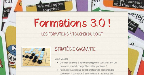 Formations 3.0 !