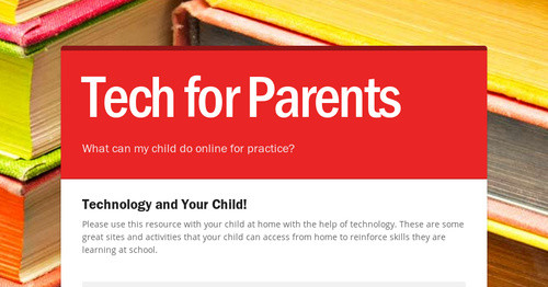 Tech for Parents