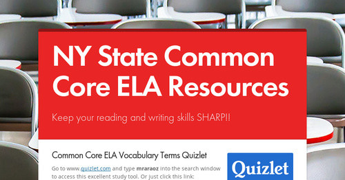 NY State Common Core ELA Resources