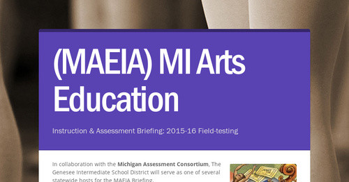 (MAEIA) MI Arts Education