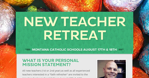New Teacher Retreat